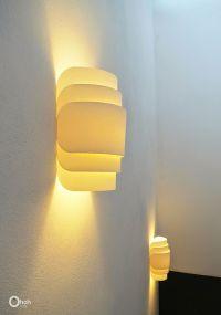 DIY Paper wall lamp