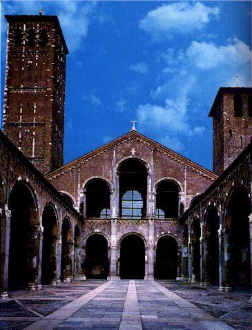 Milano  Basilica di SantAmbrogio  Places  Pinterest  Italia Italy and Bella italia