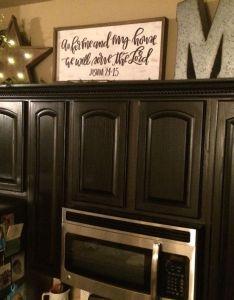 Top of kitchen cabinet decor also cabinets pinterest rh nz