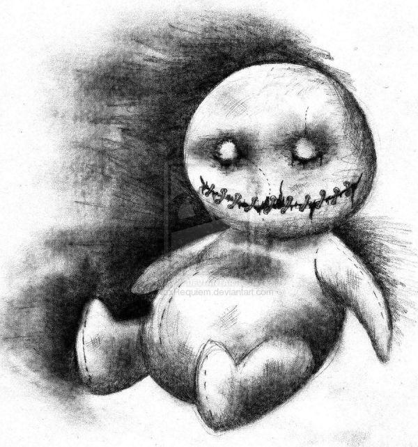 Dark Creepy Drawing Ideas
