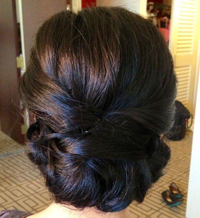 Eine Französische Chignon Frisur Wedding Hair Pinterest