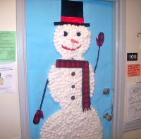 christmas door decorating contest winners | We decorated ...