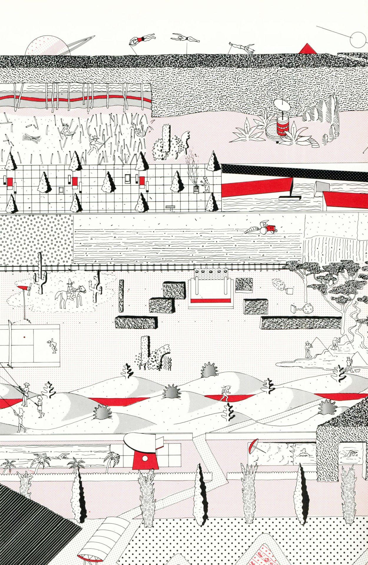 oma parc de la villette diagram triumph spitfire fuse box wiring archiveofaffinities rem koolhaas