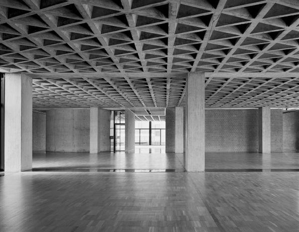 Louis Kahn Yale University Art 1953 Haven Architecture &