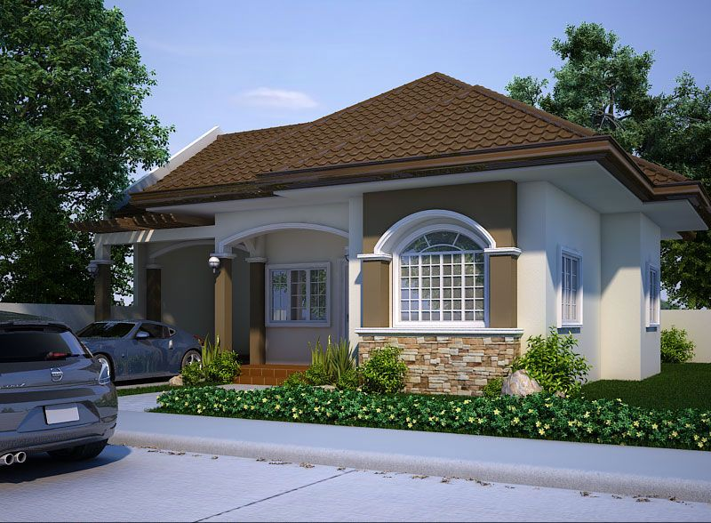 Bungalow House Designs Series PHP 2015016 Is A 3 Bedroom Floor