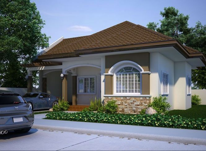 Small House Design 2016004 Is A Modern Clic With 3 Bedrooms And 1 Shared Bathroom The Living Room Open To Dining Kitchen Which Will Add