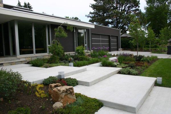 modern garden design minimalist