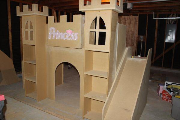 Princess Castle Bed Decorating House