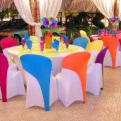 Linen Dining Chair Covers Australia Brown Leather Chairs Manteleria Spandex Vicky Velez Eventos | Arreglos Bodas Pinterest Covers, Decoration ...