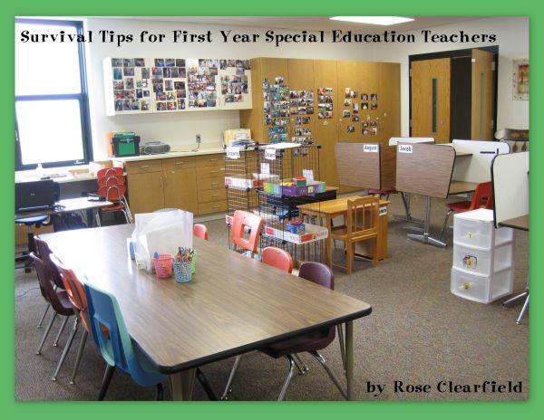 Special Education Teacher Classroom