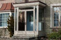enclosed front porch with storm door | Porch Enclosure in ...