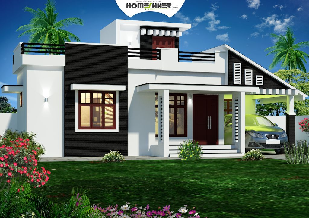 Kerala Home Design 900 Sq Feet