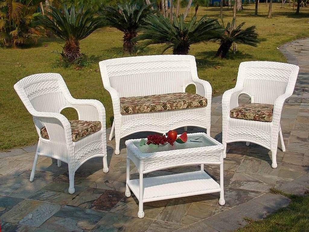 dark brown resin wicker patio furniture