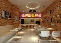 Pizza Shop Interior Designs | Store Decorations ...
