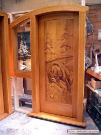 Rustic Log Cabin Exterior Doors - Bing Images   Country ...