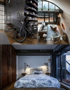 Home designing  via an architect  attic apartment with custom also rh nz pinterest