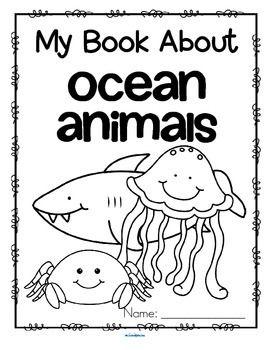 Ocean Animals Activity Printables for Preschool and Pre-K