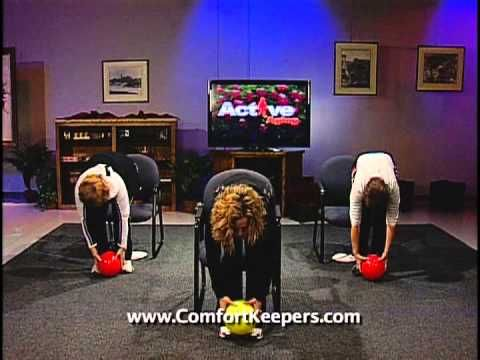 chair exercises on cable tv folding chairs home depot my apologies the previous posting of let s have a ball was erroneously labeled exercisesyoga