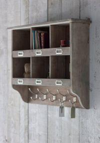 Wall Mounted Wood Shelving Units | Wooden Shelves ...