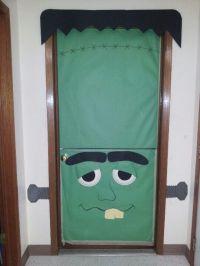 Dutch door Halloween Frankenstein door for Halloween day ...