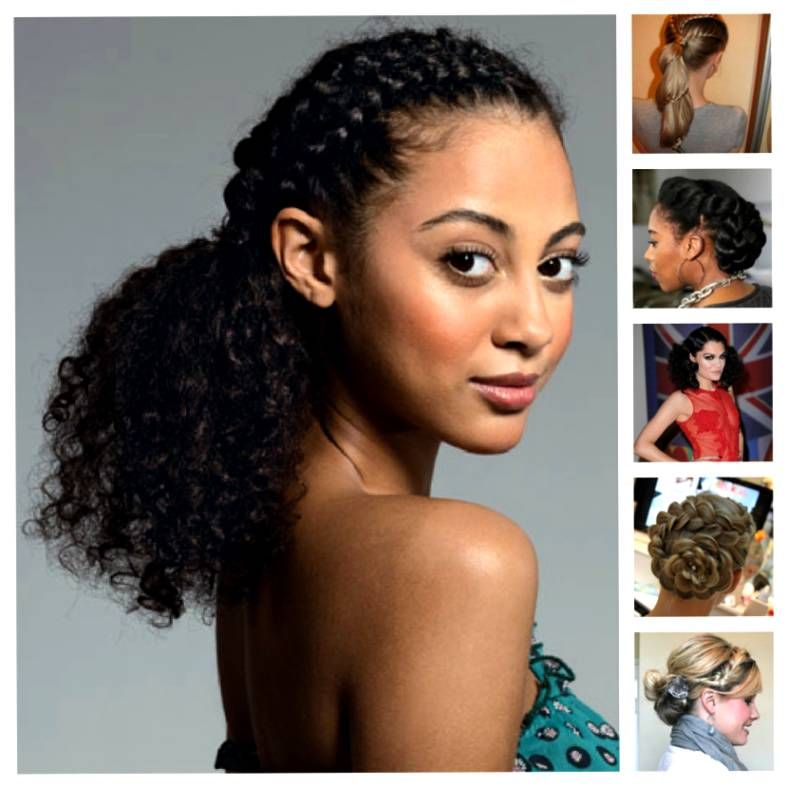 Prom Hairstyles For Mixed Prom Hair Trend 2017