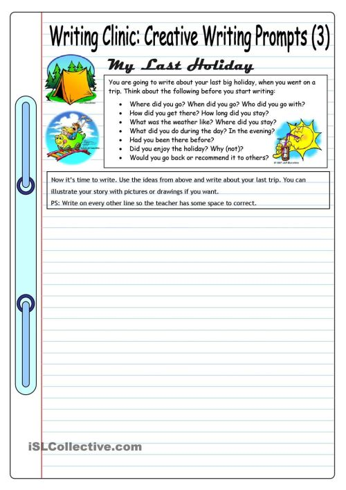 small resolution of Creative Writing Worksheets Grade 6 - English Worksheets For Grade 4 And 5