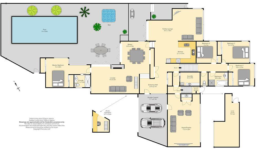 Big House Blueprints Excellent Set Landscape Fresh At Big House