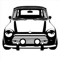 Details about CLASSIC MINI COOPER Vinyl Wall Art car ...