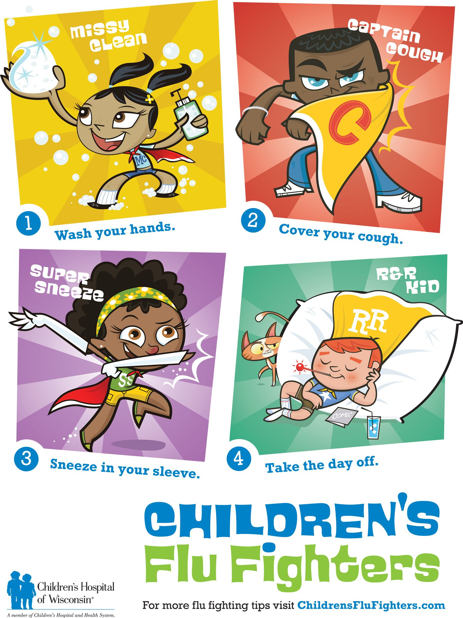 Health And Safety Posters For Children 21