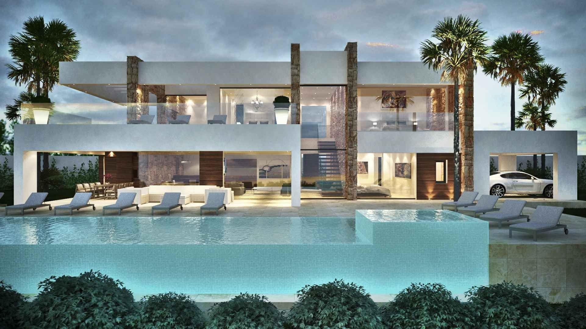 MODERN VILLAS MARBELLA Villas for sale in Marbella  Pools 4  Pinterest  Villas Marbella