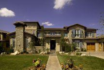 Tuscan Mediterranean Home Exterior Design