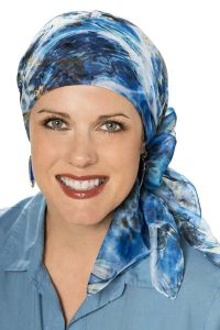 chiffon head scarves - square chemo scarf for women with ...