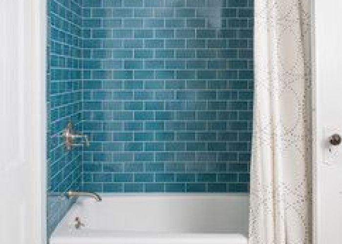 Aqua glass subway tile also tiles and