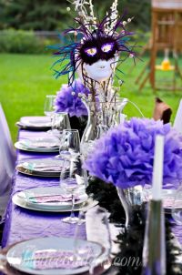 Elegant Outside Table Decor Idea- Dinner Party - Table ...
