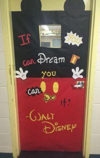Mickey Mouse classroom door | My Class! | Pinterest ...