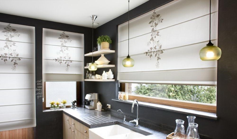 Small Kitchen Modern Kitchen Window Blinds Novocom Top