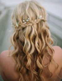 waterfall braids for weddings
