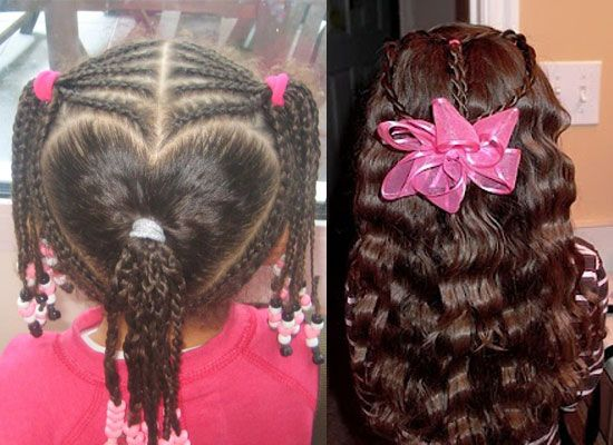 Valentine's Day Hairstyles & Ideas For Girls & Kids 2013