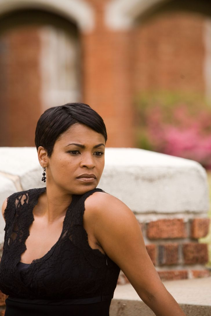 Short Hairstyle: Nia Long Short Hairstyles. Backgrounds Nia Long Short Hairstyles Of Mobile Phones Full Hd Pics Is So Pretty And This Basic Cut Looks Good On Her Hair