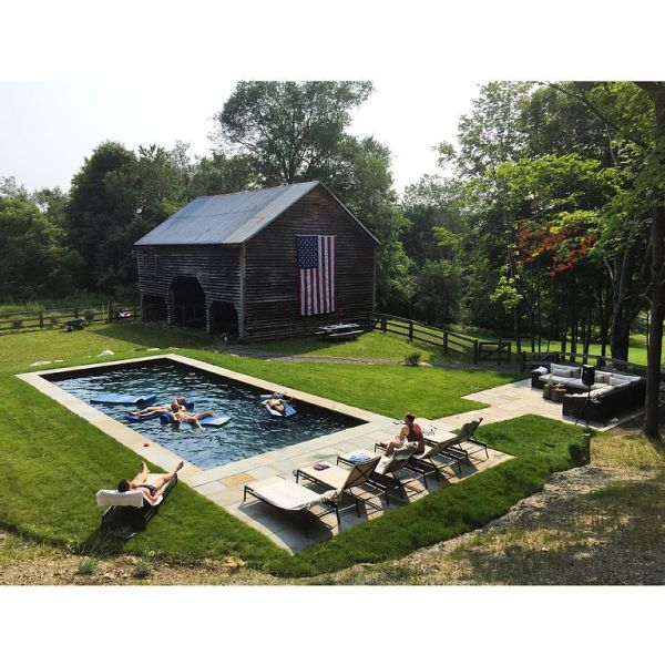 1832 colonial farmhouse - swimming