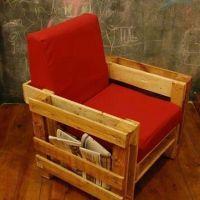 DIY Homemade Pallet Lounge Chair diy ideas photo | DIY ...