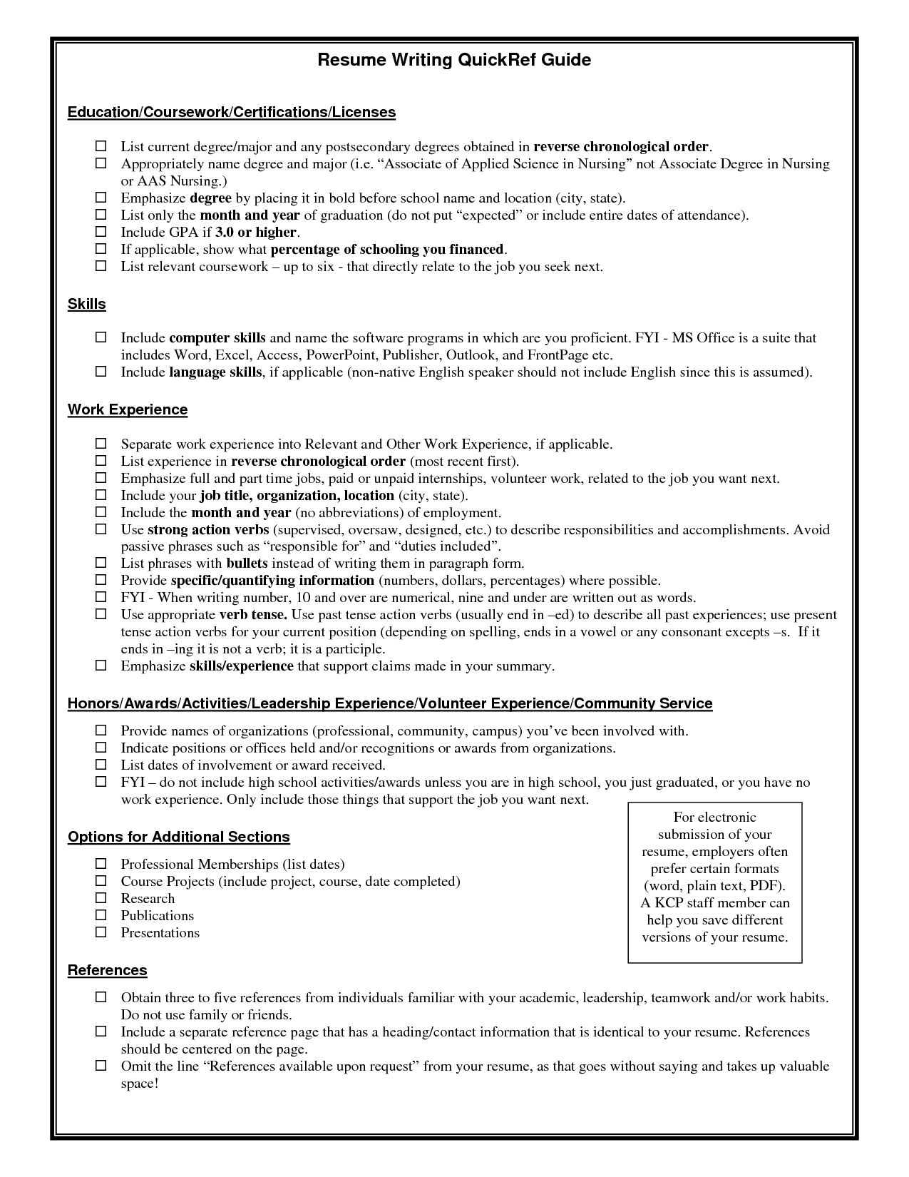 Certifications On A Resume Certification On Resume Example  Certification On Resume Example