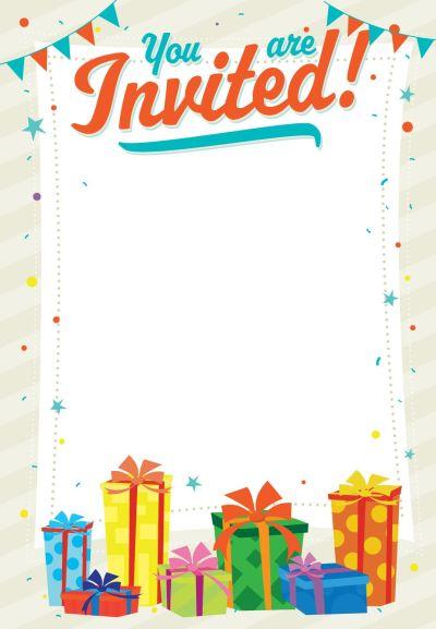 You Are Invited - Free Printable Birthday Invitation ...