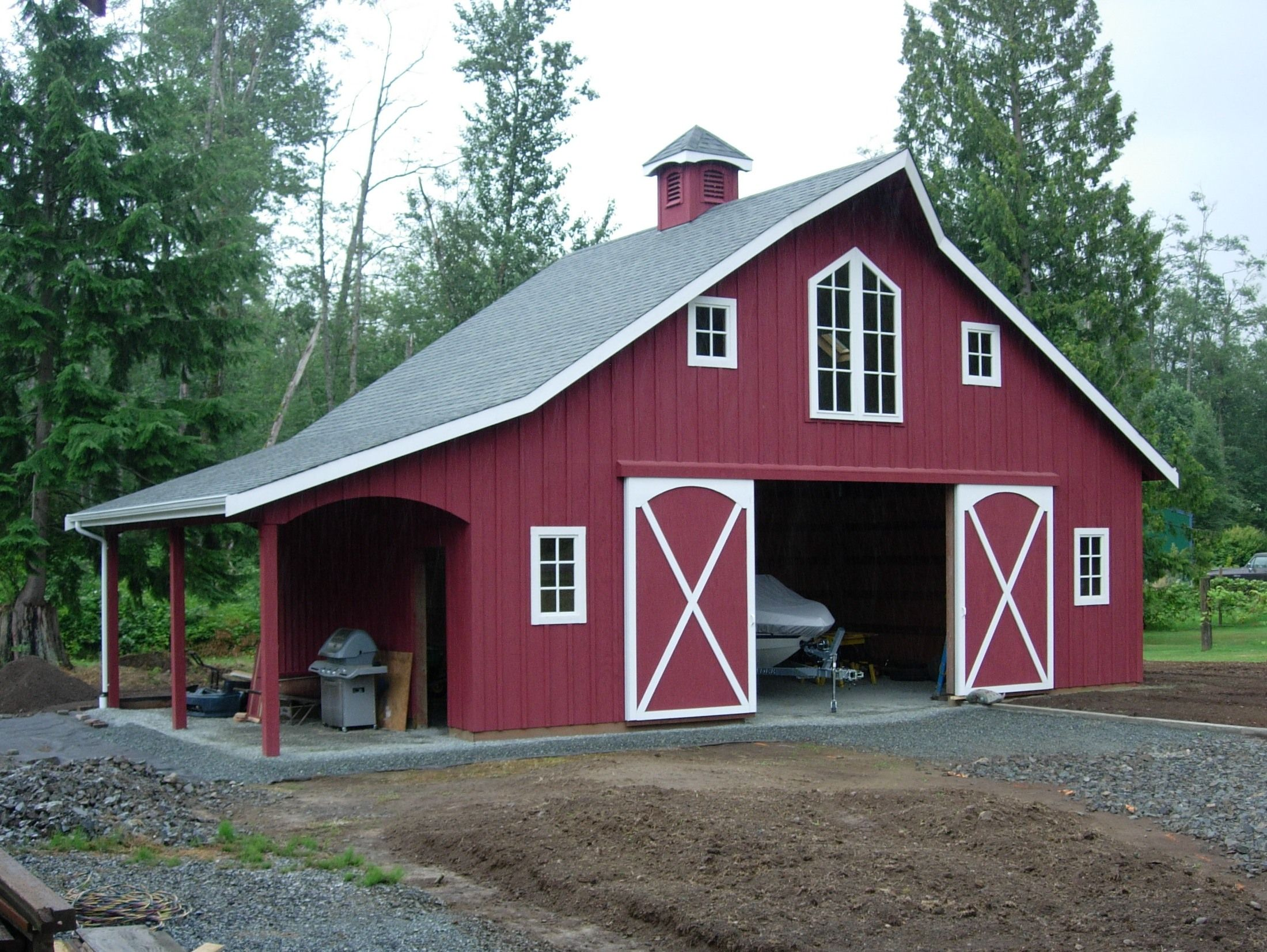 Barn Design More Horses Need A Parallel Stall Arrangement Barn