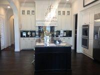 Ideas Gorgeous Black And White Kitchen Design Dark Wood ...