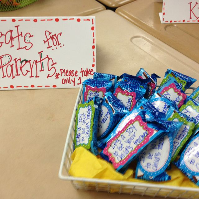 Open House Treats It's A Joy To Be Your Child's Teacher Almond