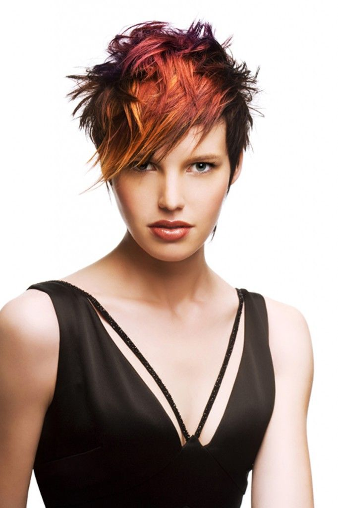 Color Hairstyles For Short Hair Women& Image Search And Searches