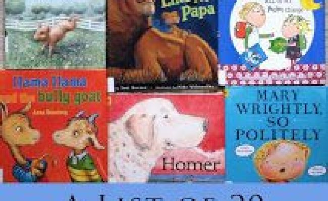 A List Of 20 Fun Books To Read With Your 4 5 Year Old