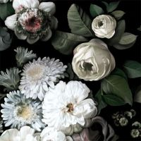 Dark Floral Wallpaper - by Ellie Cashman Design ...