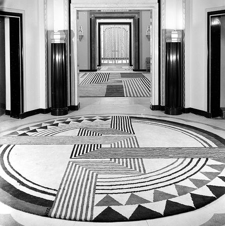 Marion Dorn Art Deco floor  Principles of Interior